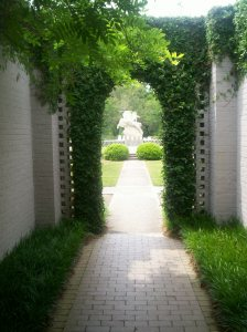 An archway at Brookgreen Gardens, near Murrell's Inlet