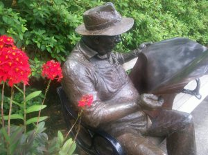One of my favorite statues at Brookgreen