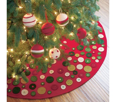 tree skirt | running with carrots
