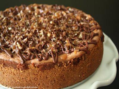 Chocolate Turtle Cheesecake I Recipes — Dishmaps